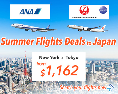 Flight Sale to Japan with ANA and JAL!